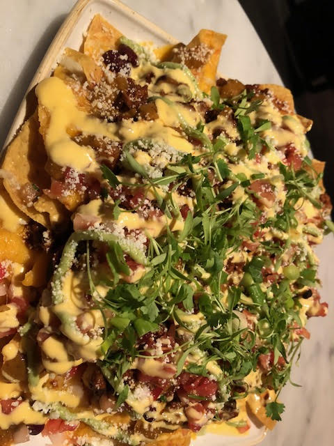 The nachos were serious fabulous.