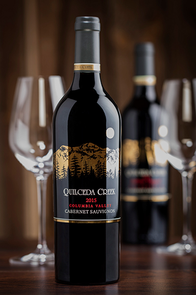 The mesmerizing 2015 Quilceda Creek 'Columbia Valley' Cabernet Sauvignon (photo by Jason Tinacci).
