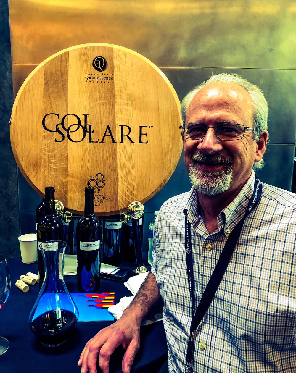 Darel Allwine crafts some stunning wines for Col Solare.