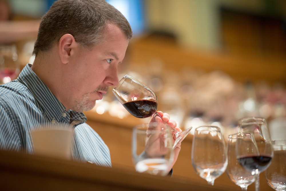 Great photo here of Sean P. Sullivan, one of the great wine writers of the Pacific Northwest.