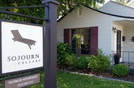 Sojourn's tasting room is located in the town of Sonoma.