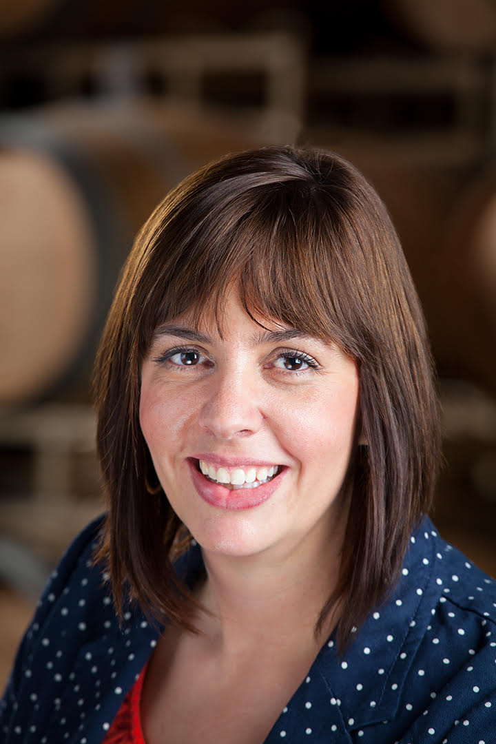 Great photo here of Katie Nelson, the new Columbia Crest winemaker.
