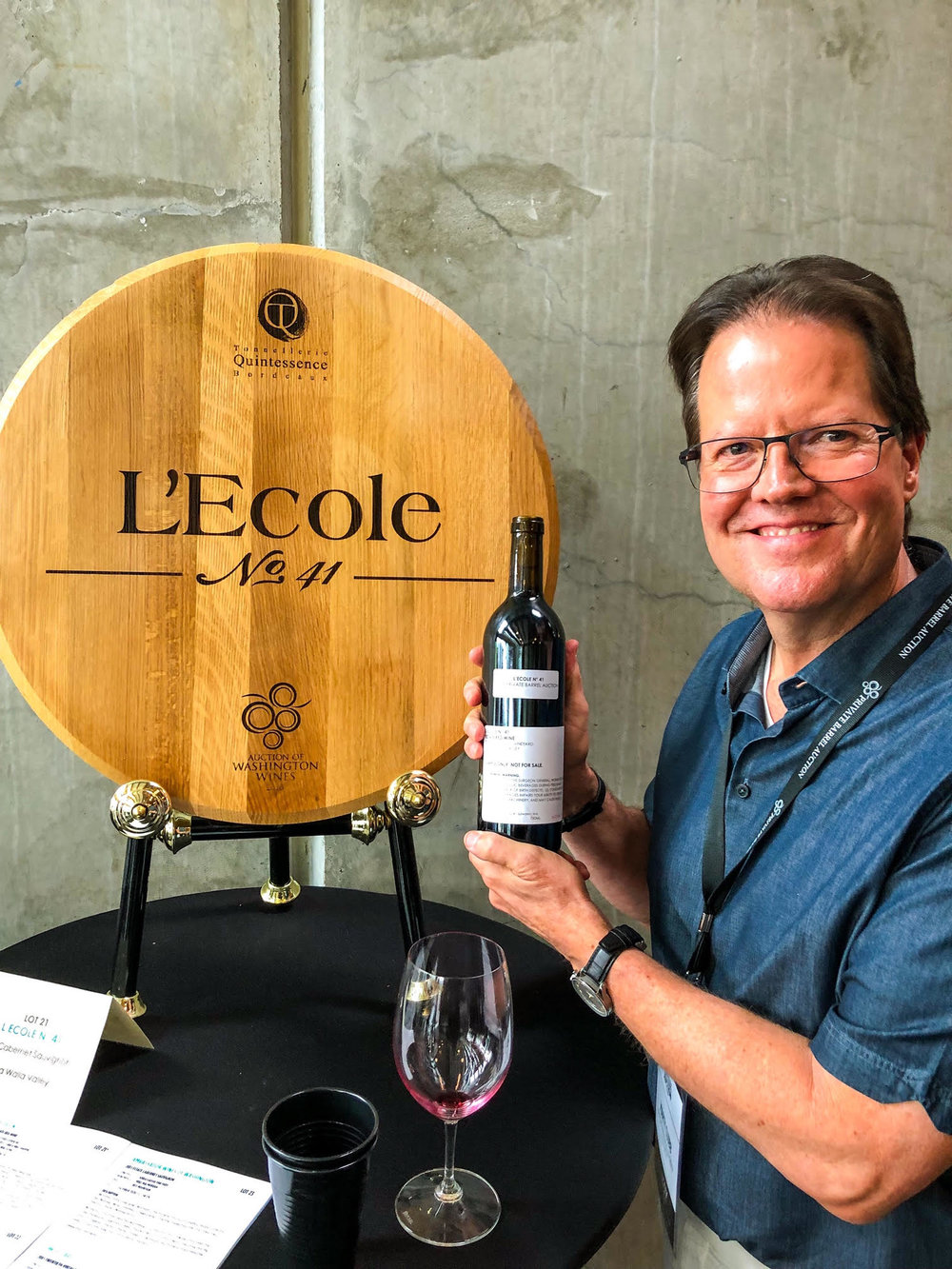 Marty Clubb, L'Ecole No. 41 owner and managing winemaker, has been pivotal in helping his winery gain national attention for their fantastic lineup of red and white wines.