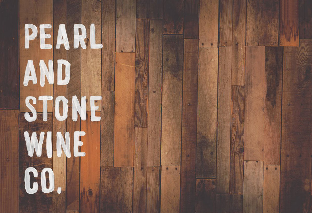 Great looking logo for all Pearl and Stone wines.