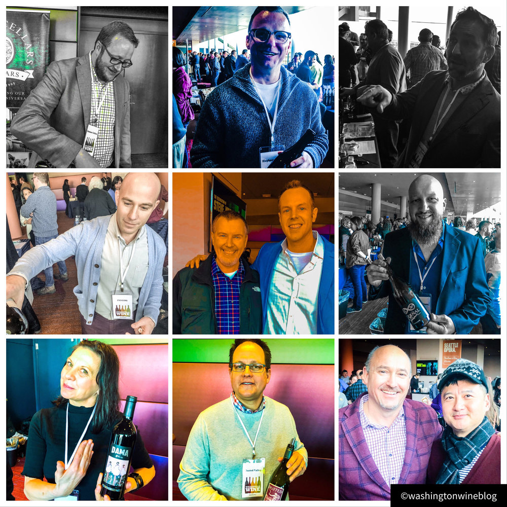 The many great faces of the Walla Walla Wine Alliance.