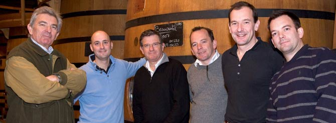 Great photo here of the Perrin family, who run one of the great houses in the southern Rhone, Chateau de Beaucastel.