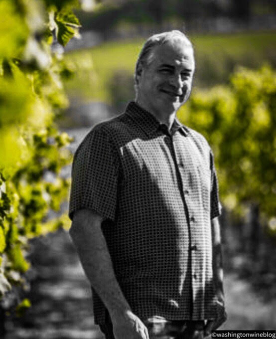 Great photo here of Tendril's talented owner and winemaker, Tony Rynders.