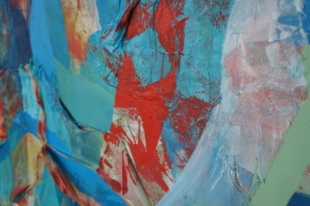 Detail, Three Curtains   (Bloody Trees) (photo credit: Mark Warren, 2015)