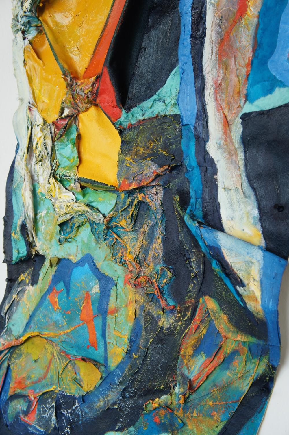 Detail, Organic Abstractions I, II and III  (photo credit: Mark Warren, 2015)