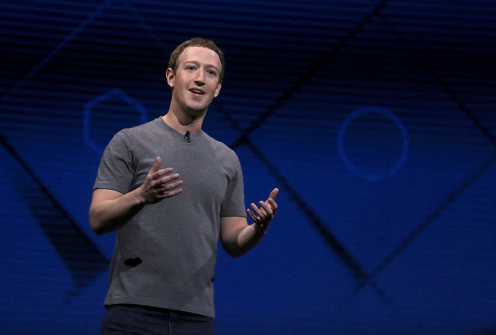 Mark Zuckerberg speaks at a conference (Fortune)