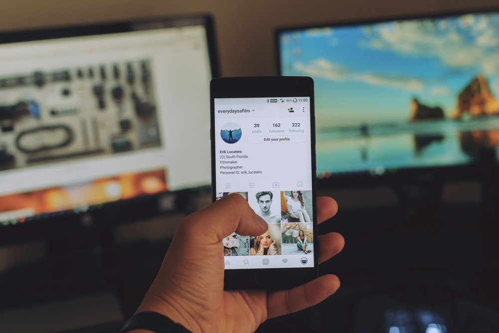 80% of Instagram users say they follower at least one business on the app.