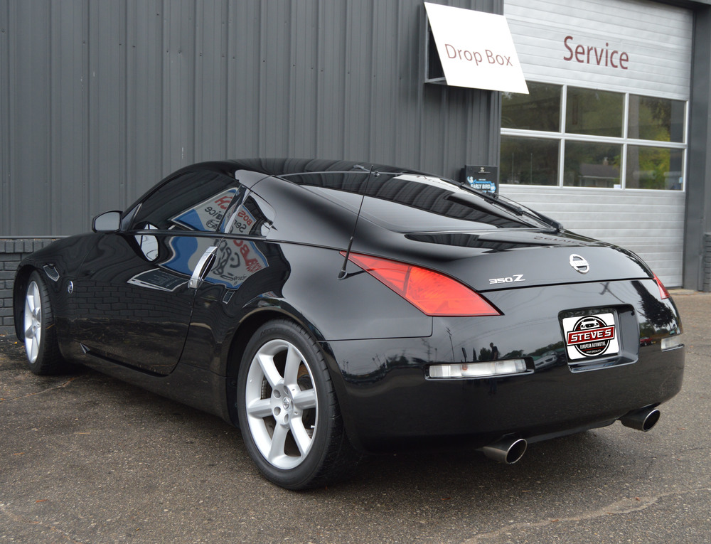 steve 39 s european automotive 2003 nissan 350z performance sold. Black Bedroom Furniture Sets. Home Design Ideas