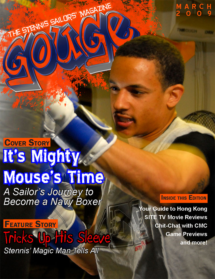 The Stennis Sailors' Magazine GOUGE - First Edition
