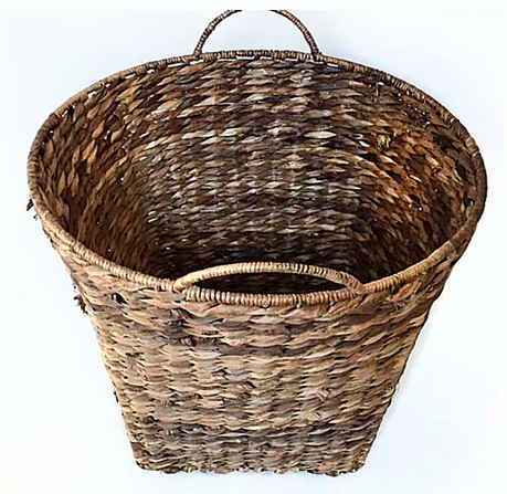 This  basket  is perfect or storing extra towels, toilet paper, magazines, etc.