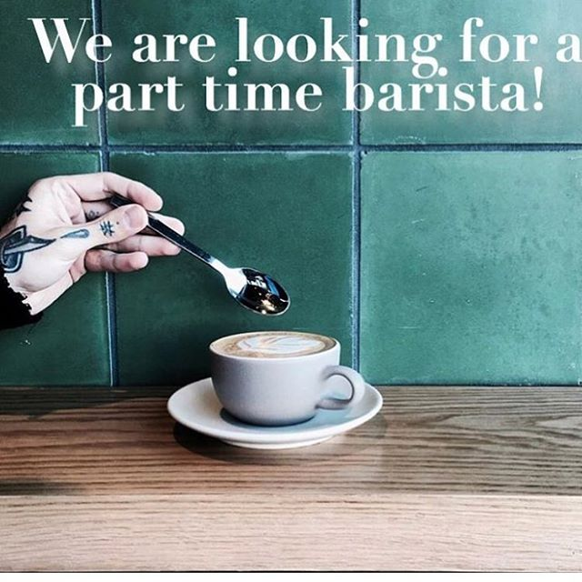 Our DTLA location is on the search for an experienced barista! Send you resume through to adam@pcpfx.com