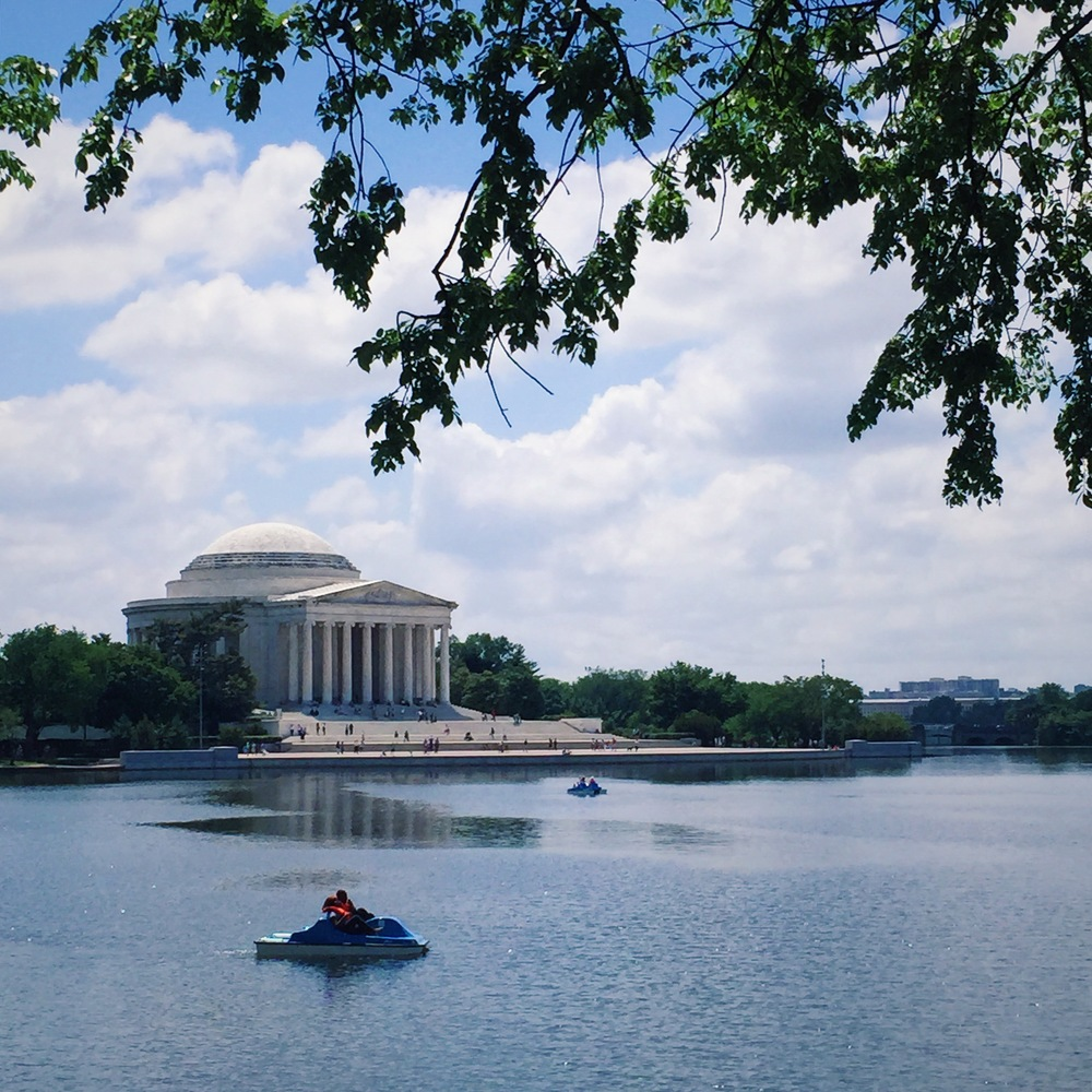 One of my favorite shots of the Jefferson Memorial!