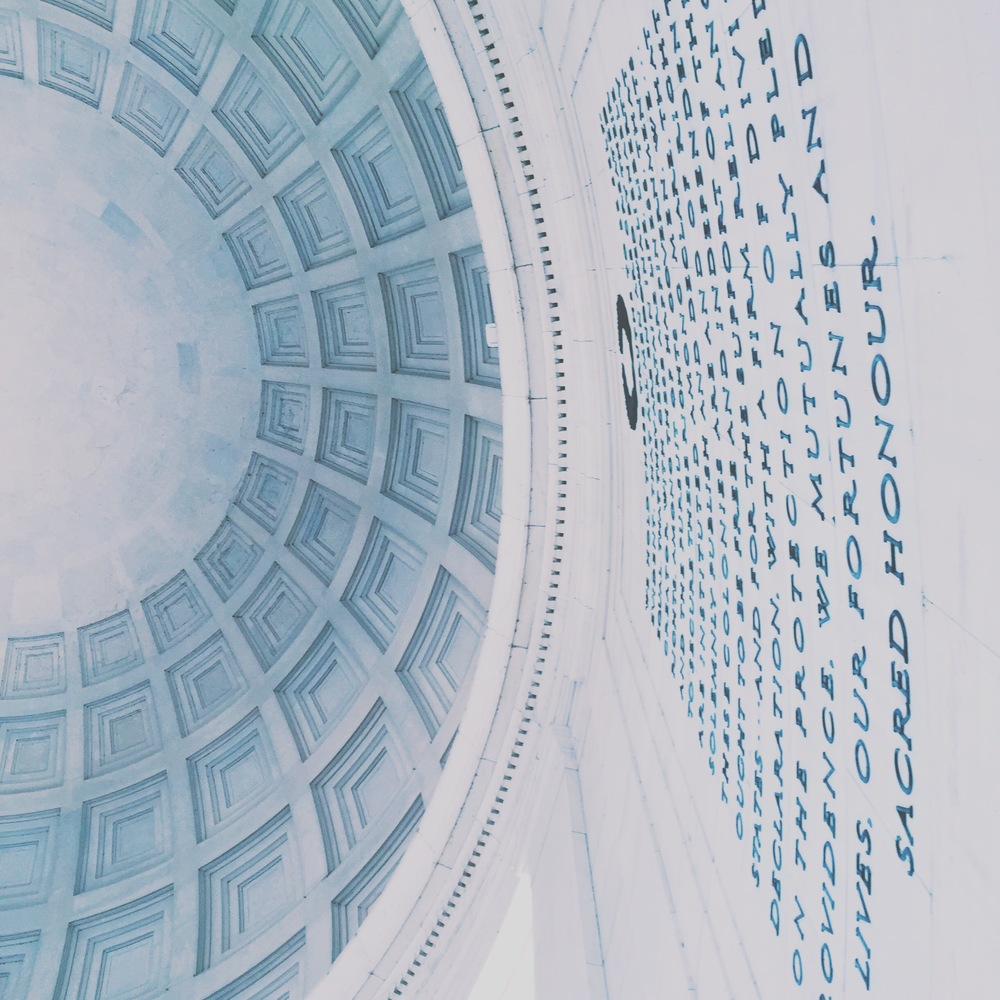 Jefferson Memorial. I went a little picture crazy with the Jefferson, bear with me.