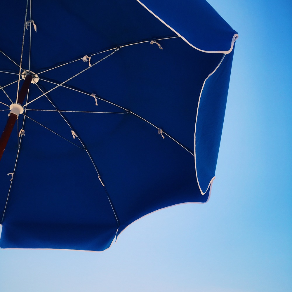 We rented this umbrella for the day for $12. Absolutely worth it.