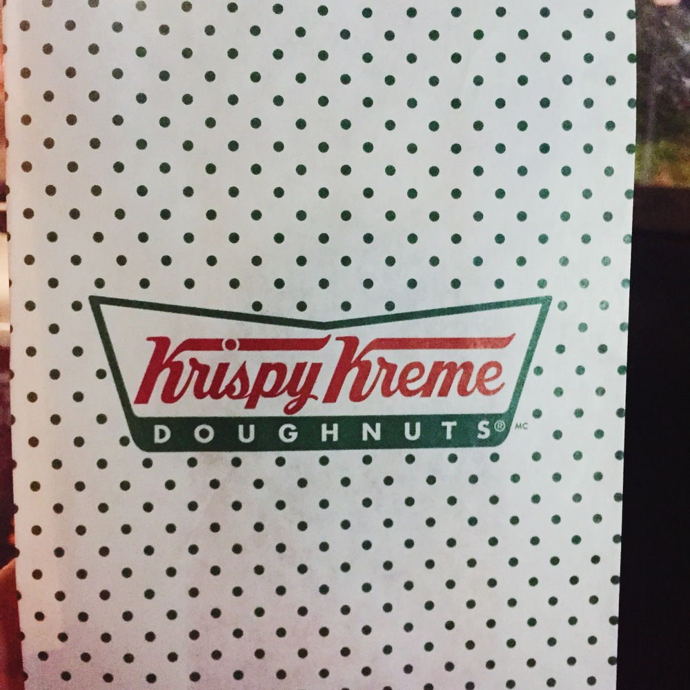 ...and my first time having Krispy Kreme! I had no idea what I was missing.