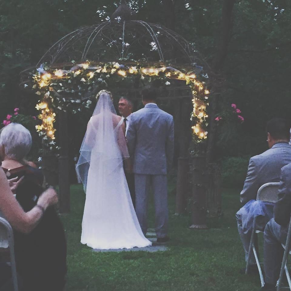 Mattis & Vanessa's Sunset Wedding! It was beautiful!