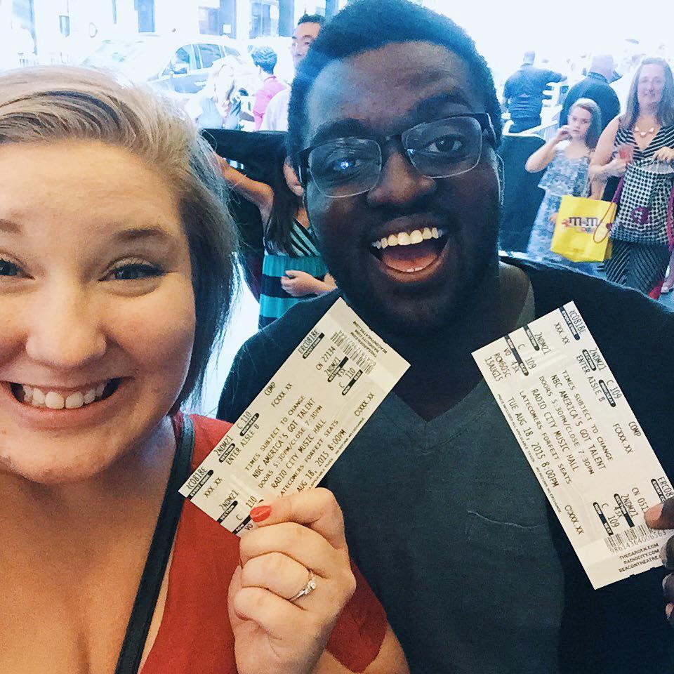 Got our tickets!