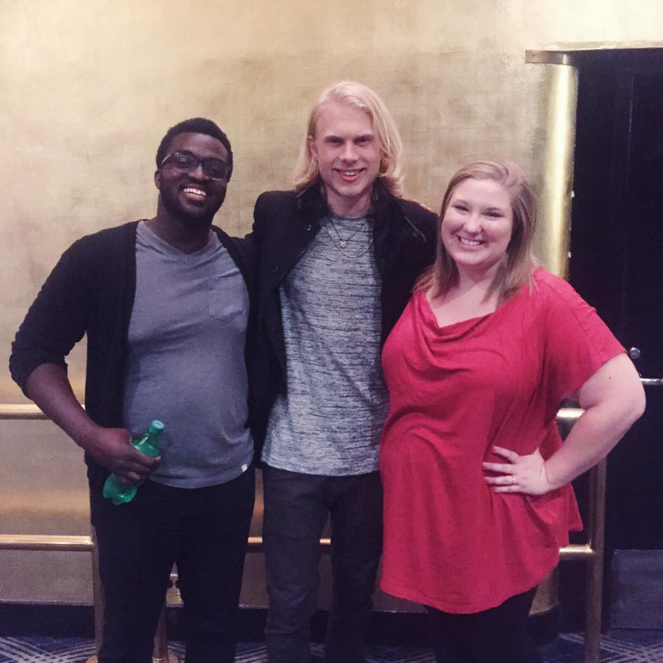We got to see Dane for a few minutes before the show!                                                       Photo Cred: Mattis!