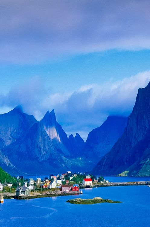 Norway, Fjords, Mountains
