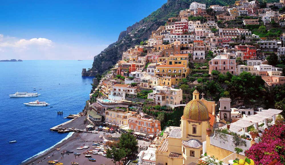 Postiano, Italy, Amalfi Coast, Italian Coast