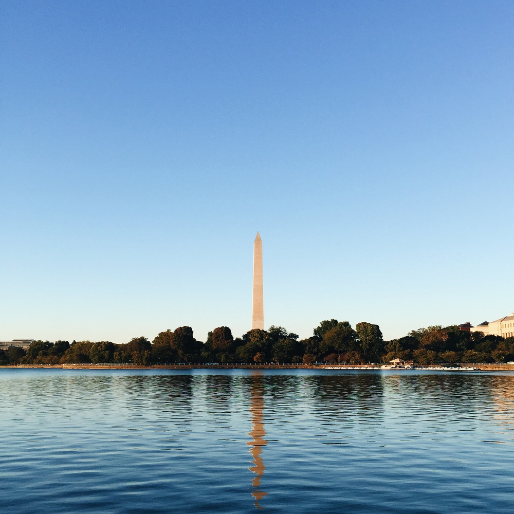 Washington DC. Tidal Basin. Washington Monument. DC. Capital. Fall.
