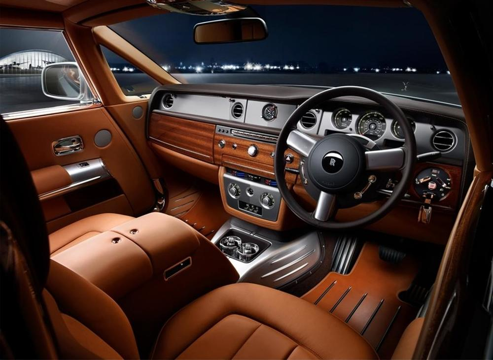 Rolls-Royce customized interior