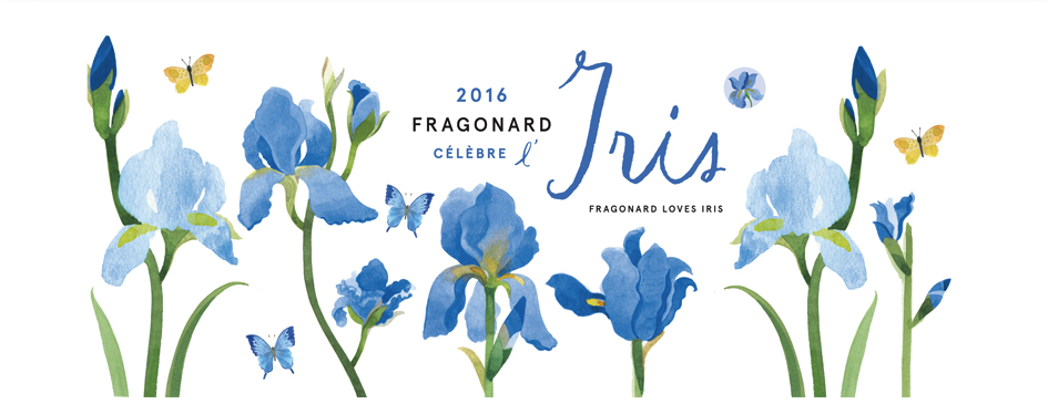 Fragonard's Iris 2016 Special Edition Fragrance