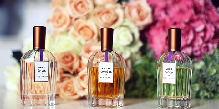 Molinard's fragrances, by Ana Morodan