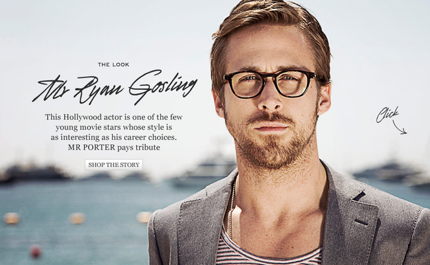 Ryan Gosling for Warby Parker