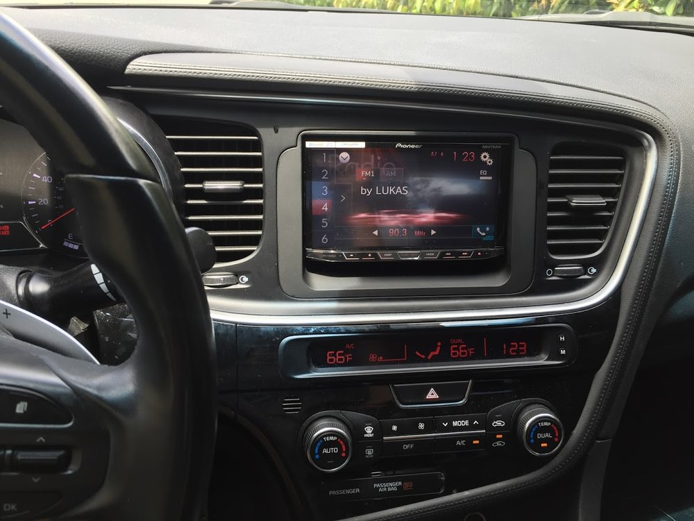 2015 kia optima radio upgrade and camera install  u2014 twelve