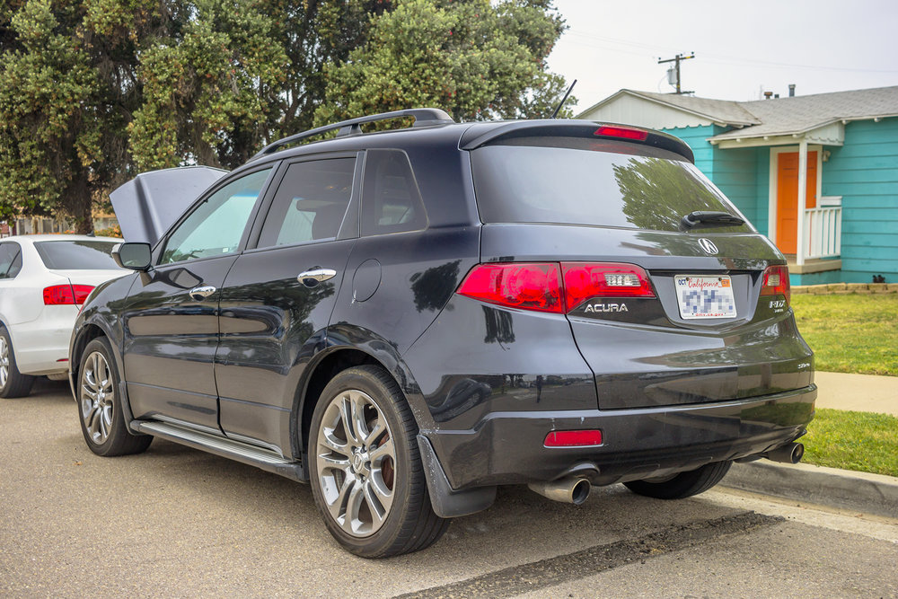 This Acura RDX Turbo Gets Some New Speakers And A Subwoofer - Acura rdx tires