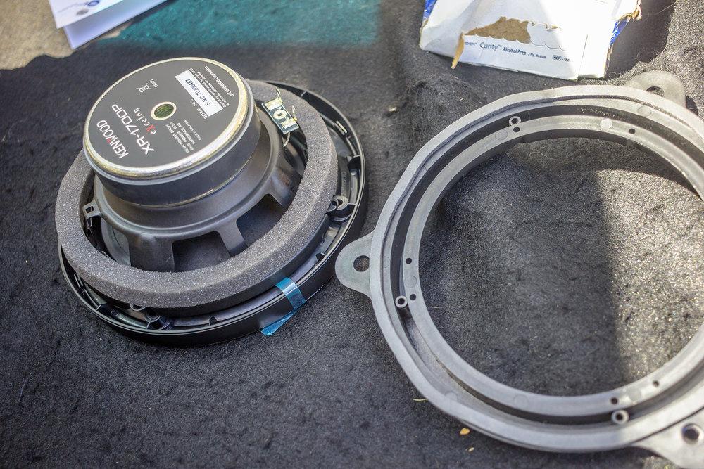 2015 nissan altima adds kenwood excelon speakers! \u2014 twelve volt2015 nissan altima aftermarket front speaker prep jpg