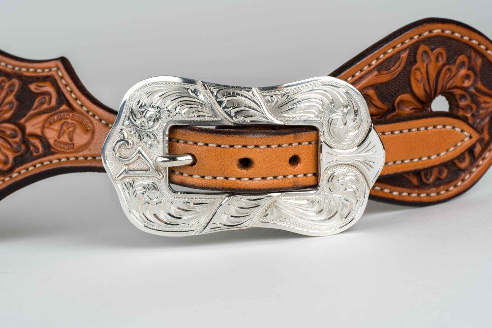 Baru Spiller Silverwork with Leather by Flavio Ribeiro