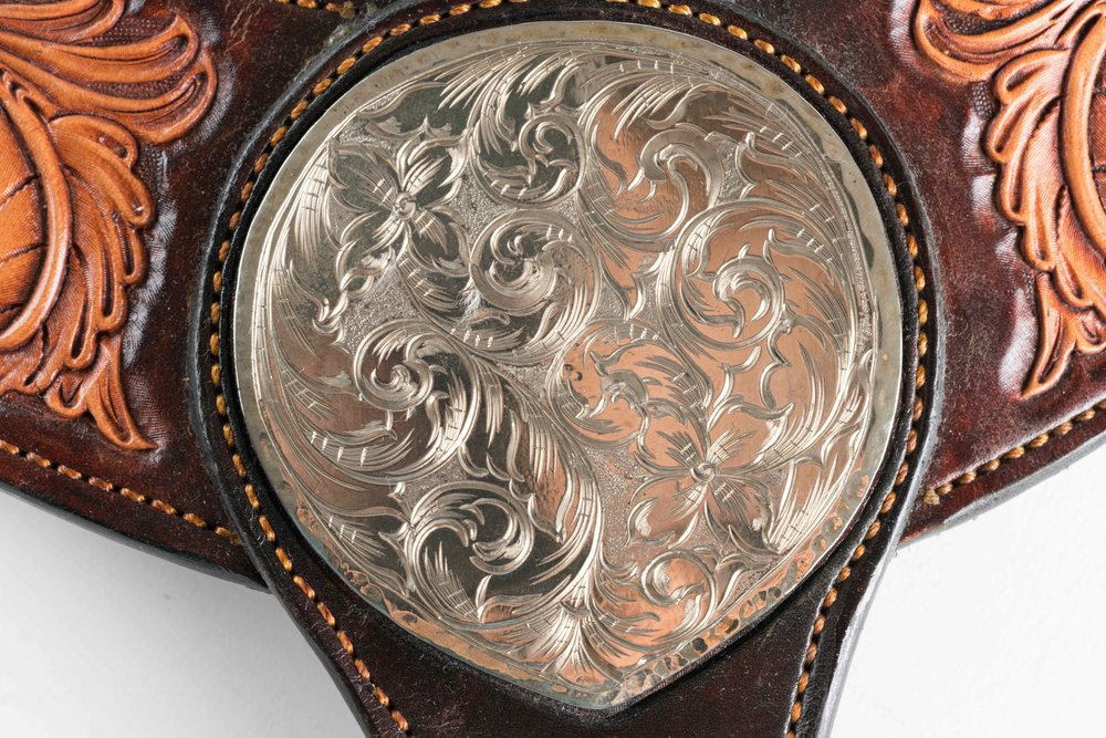 Kevin Hall Silverwork with Leather by Tad Knowles