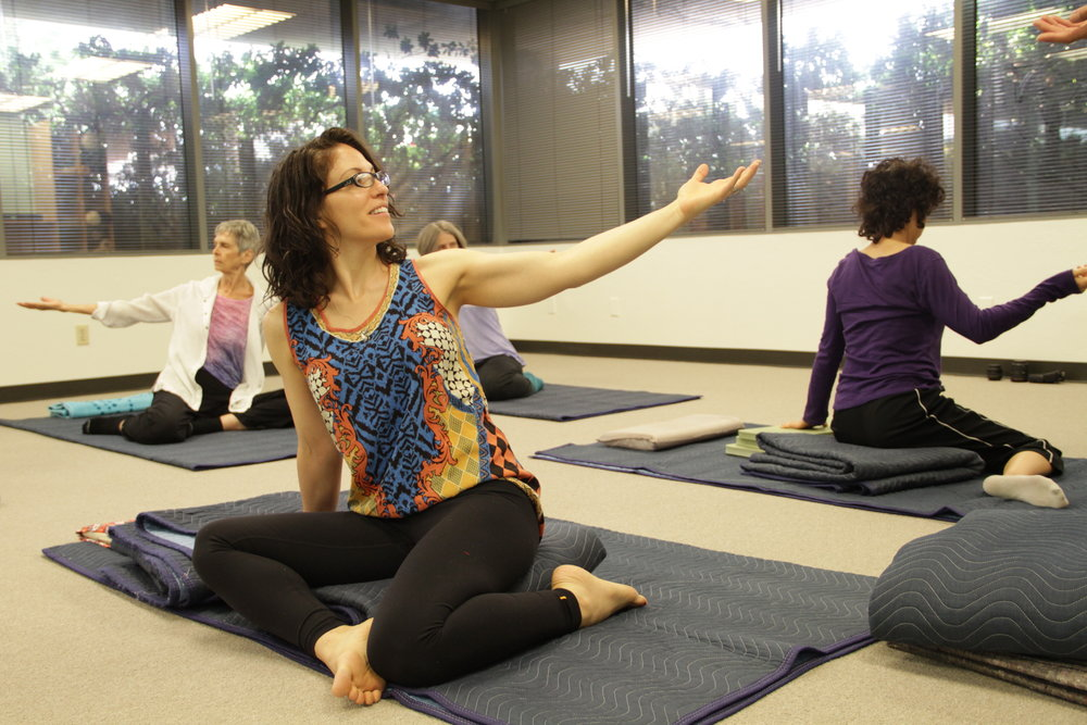 Anat Baniel Method NeuroMovement Group Class with Transformational Movement Lessons (TML).