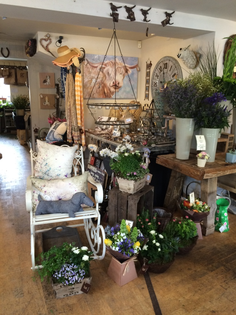 I did not come across hardly any nursery's shops that did not have warm cottage decor accessories or furniture to purchase as well as the plants.