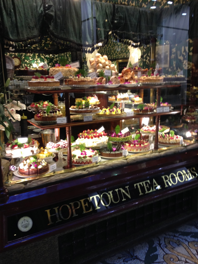 The Famous Hopetoun Tea Room in Melbourne