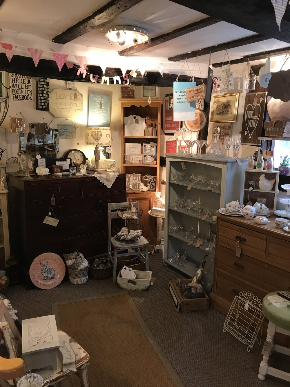 More of the little shop ...upstairs was very squashed.
