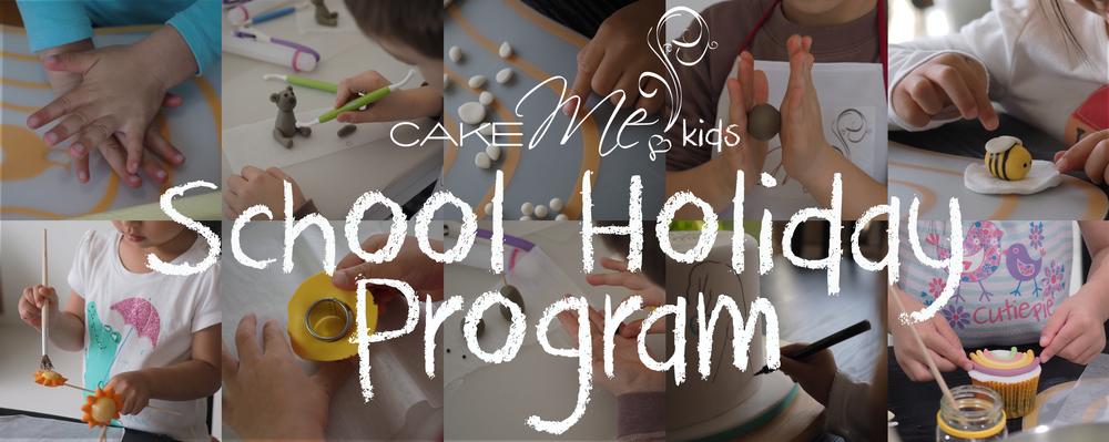 Cake Me! kids school holiday program