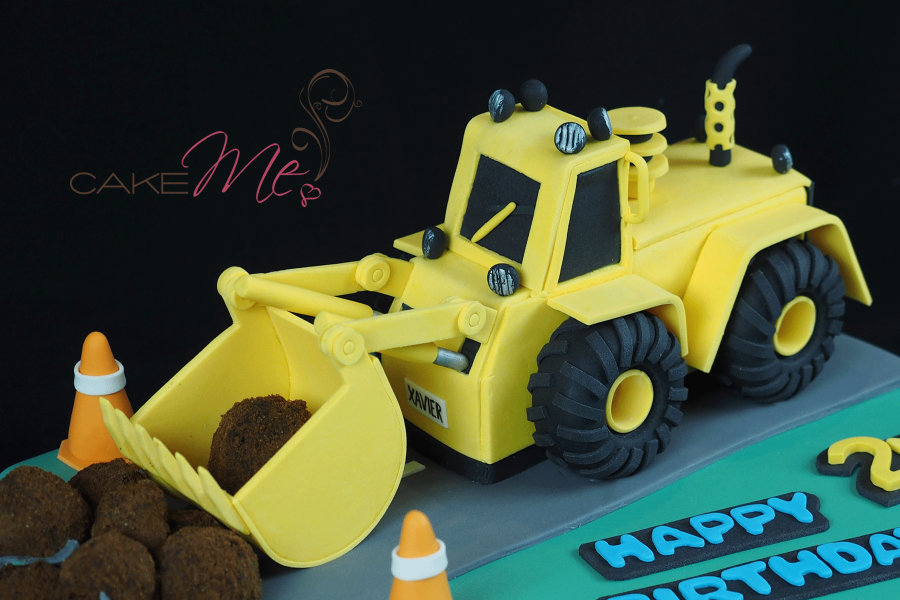 Our Digger cake in 2015
