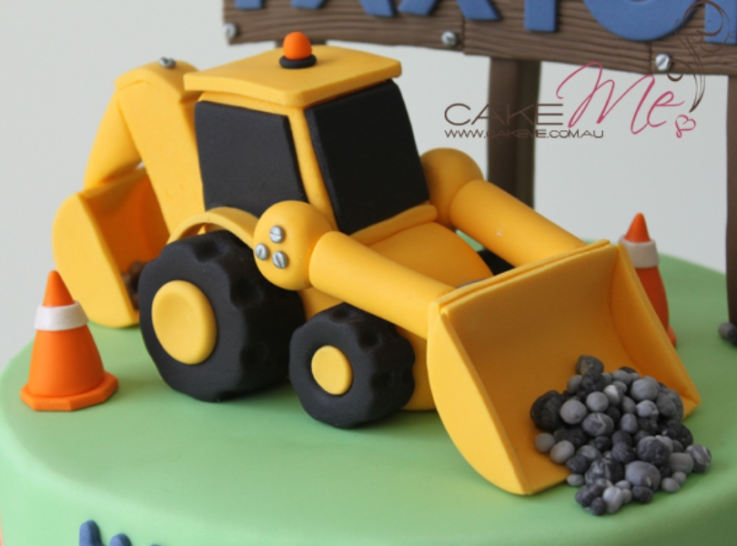 Our Digger cake in 2010