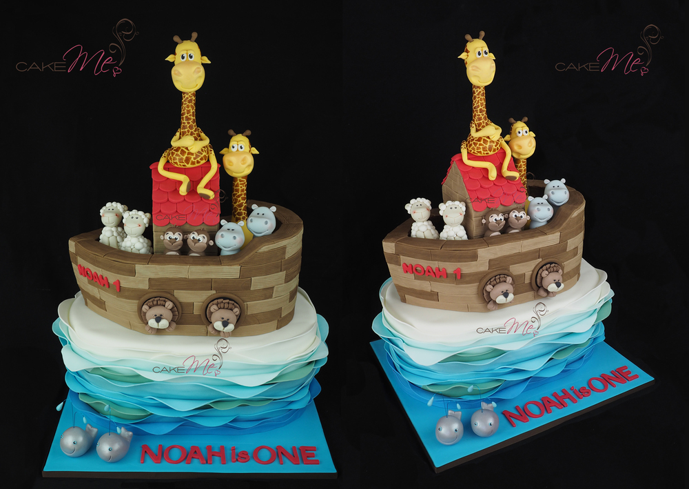 Noah's Ark Cake, weighing in at 31.5kg and 59cm in height