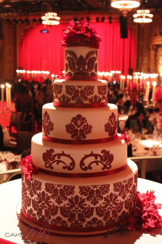 Noah's parents' wedding cake