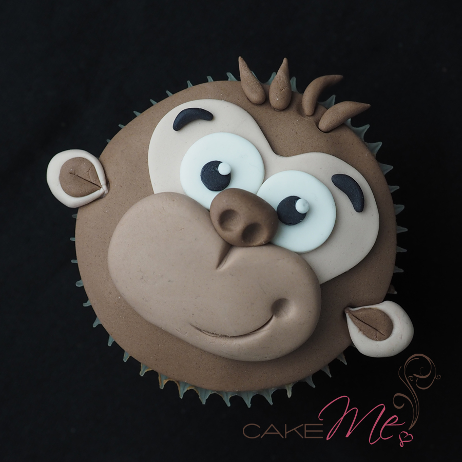 Sample cupcake for the Cake Me! kids session