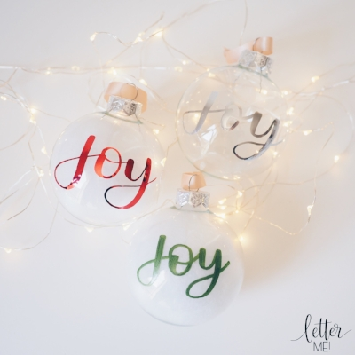 Personalised Christmas baubles.JPG
