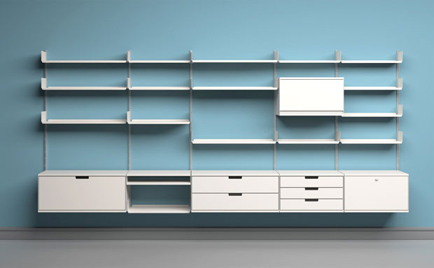 shelving laminate shelving